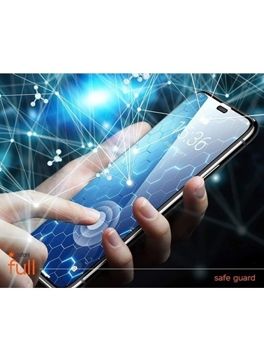 MobilCadde Dafoni iPhone 12 Pro Max 6.7 inç Tempered Glass Premium Full Cam Ekran Koruyucu Renkli